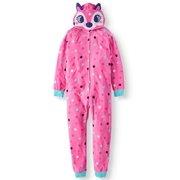 Komar Kids Girls  Hooded Velour Fleece Blanket Sleeper (Little Girls   Big  ... d078765fb