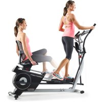 ProForm Hybrid Trainer 2-in-1 Elliptical and Recumbent Bike with iFit
