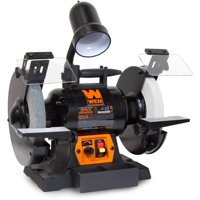 WEN 5-Amp 8-Inch Variable Speed Bench Grinder With Work Light, 4280