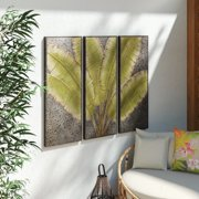 Regal Art Gift Leaves Tryptic Wall Decor