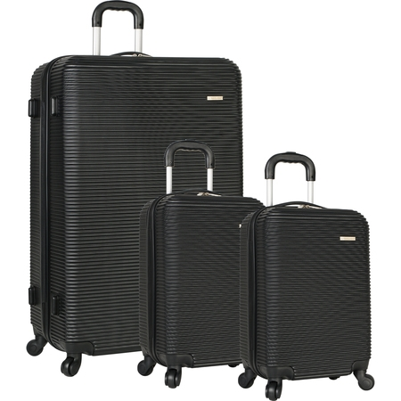 Travel Gear Hardside Spinner Luggage Set with 2 Carry Ons - Hardside Spinner Luggage Set