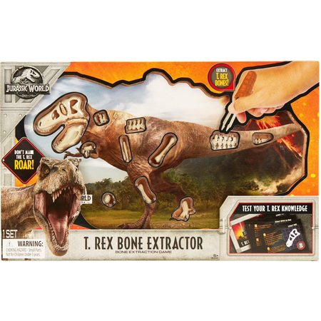 - Jurassic World - T. Rex Bone Extractor - Uncle Milton Scientific Education Toy