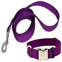 Country Brook Design® Premium Nylon Dog Collar and Leash