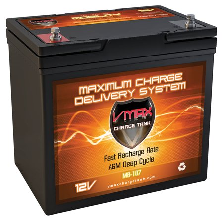 - MB107-85 AP Vmaxtanks AGM Battery 85ah Comp. With Many Advanced Power Production Wheelchairs & More & Golf Cart Deep Cycle Hi Performance Vmax Wheelchair Battery