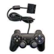 PlayStation 2 Wired Gaming Controller Joypad Joysticks for PS2 Console Gamepad Black