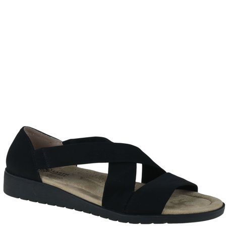 Extra Wide Leather Sandals - Earth Spirit Womens Crossband Sandals