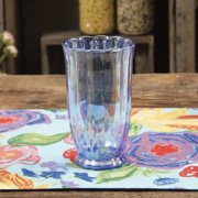 The Pioneer Woman Luster Glaze 15oz Blue Tumbler