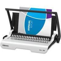 Fellowes, FEL5006501, Star Plus Manual Comb Binding Machine, 1 Each, White,Black
