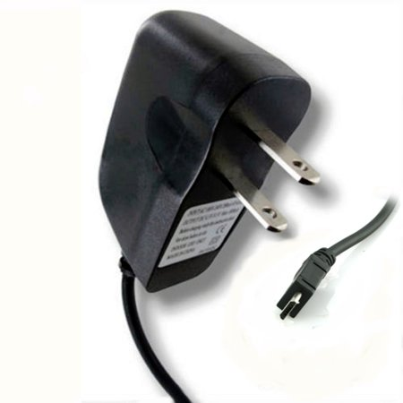 AT&T BlackBerry Classic Premium High Quality Black Rapid Charge Micro USB Travel Wall Charger