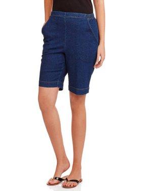 Women's Plus-Size 2 Pocket Pull-On Shorts