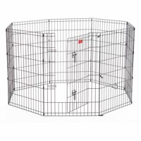 """Lucky Dog Heavy-Duty Pet Exercise Pen with Stakes, 36"""""""