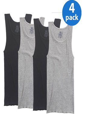 Big Men's 4-Pack Assorted A-Shirts