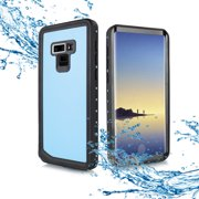 "for 6.4"" Samsung Galaxy Note 9 Waterproof Armor Hybrid Shock Full Body Clear Protective Case"