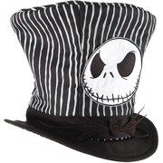 804c79ee6d30 Jack Skellington Top Hat Adult Halloween Accessory