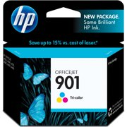 HP 901, (CC656AN) Tri-color Original Ink Cartridge