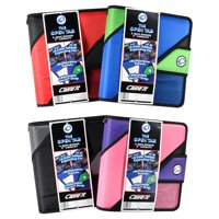 Case-It Open Tab 2-Inch Binder, Assorted Colors