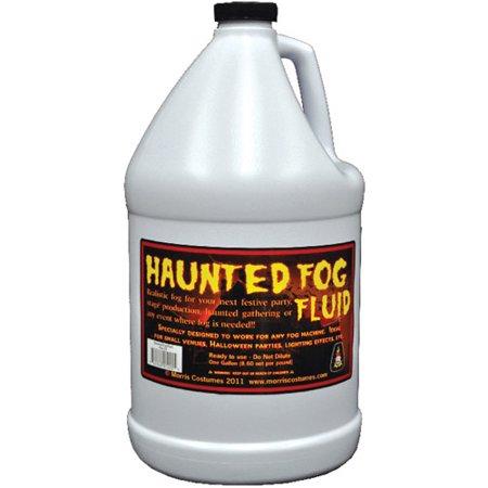 1-Gallon Haunted Fog Fluid Halloween Accessory - Fog Machine Liquid