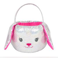 Way to Celebrate Sequined Easter Basket