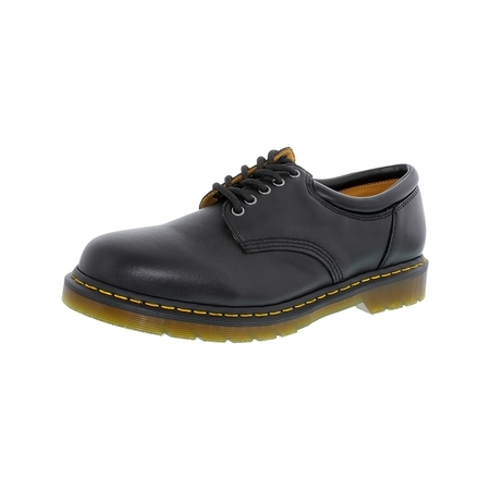 Dr. Martens Men's 8053 Lace-Up Black Ankle-High Leather Oxford Shoe - 12M](doc martens classic black)