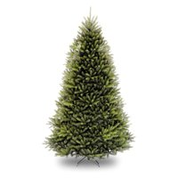 National Tree Unlit 9' Dunhill Fir Hinged Artificial Christmas Tree