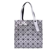 ff7f5a31be1c Silver Women Tote Bag Purse Handbag – PU Leather Shoulder Bag with  Adjustable Handle And Large