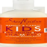 SheaMoisture Kids Extra-Nourishing Shampoo, Mango & Carrot, 8 Oz