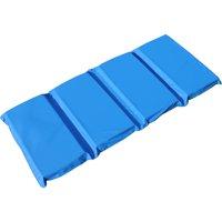 """Peerless Plastics Blue/Teal KinderMat, 2"""" x 19"""" x 44"""""""