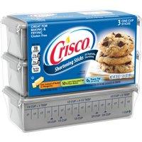 (2 Pack) Crisco Baking Sticks All-Vegetable Shortening, 20-Ounce