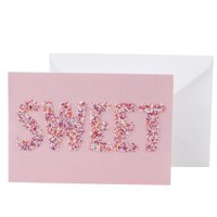 Hallmark Signature Valentine's Day Card (Sweet Candy Sprinkles)