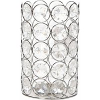 "Mainstays 7""H Jeweled Candleholder"