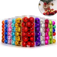 Moderna Glittering Baubles Balls Christmas Tree Ornament Xmas Party Hanging Decoration