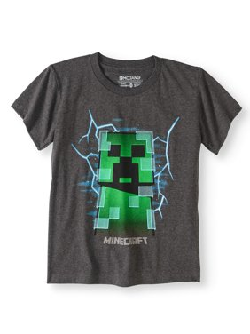 Short Sleeve Charged Creeper Graphic T-Shirt (Little Boys & Big Boys)