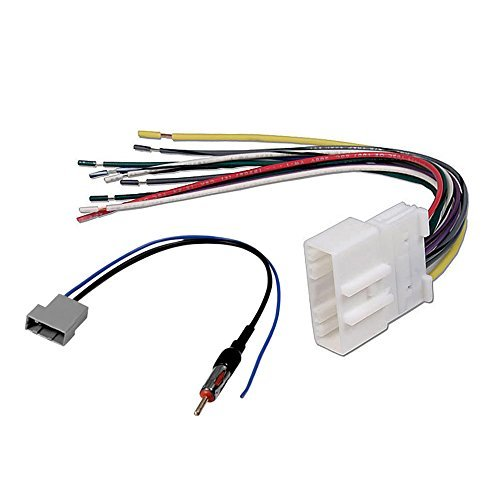 ford stereo wiring harness Auto Wiring Harness Kit aftermarket car stereo radio receiver wiring harness w radio antenna adapter for select nissan vehicles