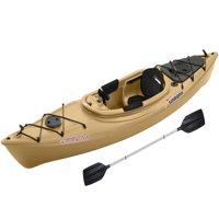 Sun Dolphin Excursion 12' Sit-In Fishing Kayak Sand, Includes Paddle