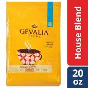 Gevalia House Blend Coffee Medium Roast Ground 20 oz Bag