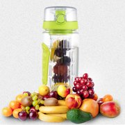 fc9469a168 Ainfox 32oz/1000ml Fruit Infuser Water Bottle Health Outdoor Portable Sports  Lemon Cup BPA-
