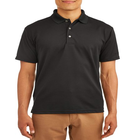 - Men's Performance Solid Short Sleeve Polo Shirt