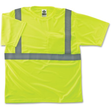 Glowear Class 2 Reflective Lime T-shirt