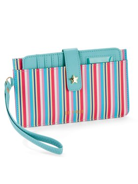 Card Case Wallet - Multi Stripes