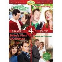 Hallmark Holiday Collection 4: Love At The Thanksgiving Day Parade / Christmas Song / Baby's First Christmas / Bride For Christmas (DVD)