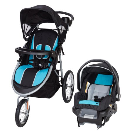 Baby Trend Pathway 35 Jogger Travel System-Optic Aqua
