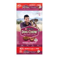 Purina Dog Chow Dry Dog Food; Tender & Crunchy With Real Lamb - 40 lb. Bag