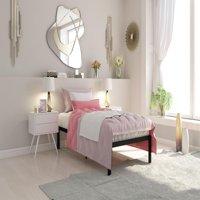 Signature Sleep Premium Modern Metal Platform Bed, Multiple Finishes and Sizes