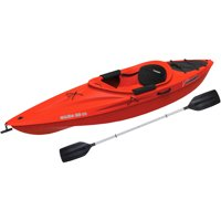 Sun Dolphin Aruba 10 SS Recreational Kayak Red, Paddle Included