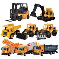 Girl12Queen Excavator Bulldozer Truck Construction Vehicle Model Children Toy Birthday Gift