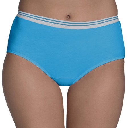 Women's Assorted Heather Brief Panties, 6