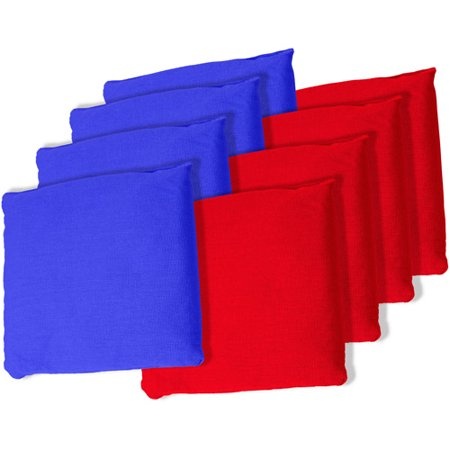 Blue and Red Championship Cornhole Bean Bags Only $10