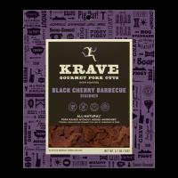 Krave, Pork Jerky Black Cherry Barbecue, 2.7 Oz