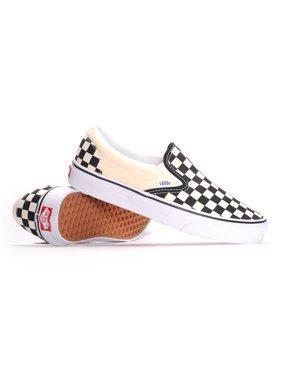 5d8f0a1bd5633e Product Image Vans Classic Slip-On (Black   White Checkerboard White) Men s  Skate Shoes