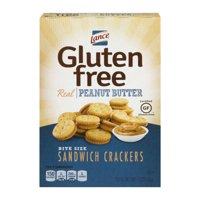 (2 Pack) Lance Gluten Free Peanut Butter Sandwich Crackers, 5 Oz